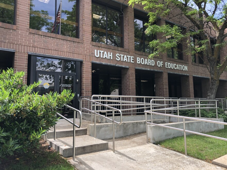 Photo of the Utah State Board of Education building