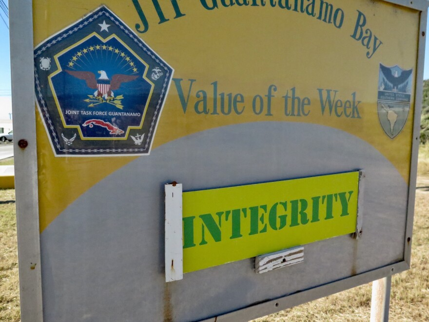 Value of the Week at Joint Task Force Guantánamo Bay. (Photo reviewed and cleared by U.S. military.)