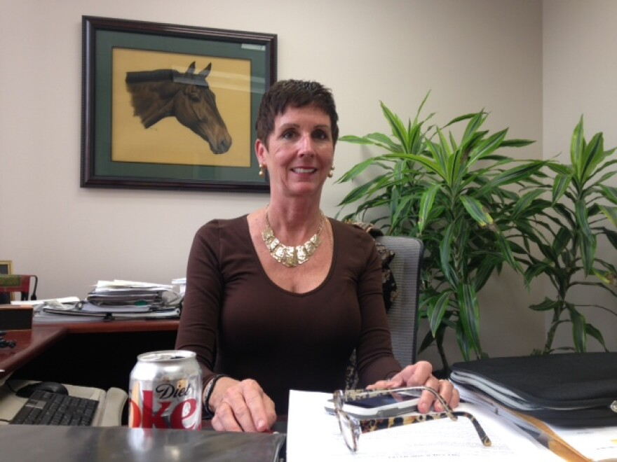 Dr. Kathy Diemer, assistant dean of career counseling for Washington University's School of Medicine.