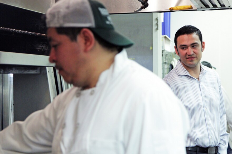 In the kitchen, Fonda San Miguel general manager Danny Herrera says he's asking his cooks to slice limes a little thinner for now.