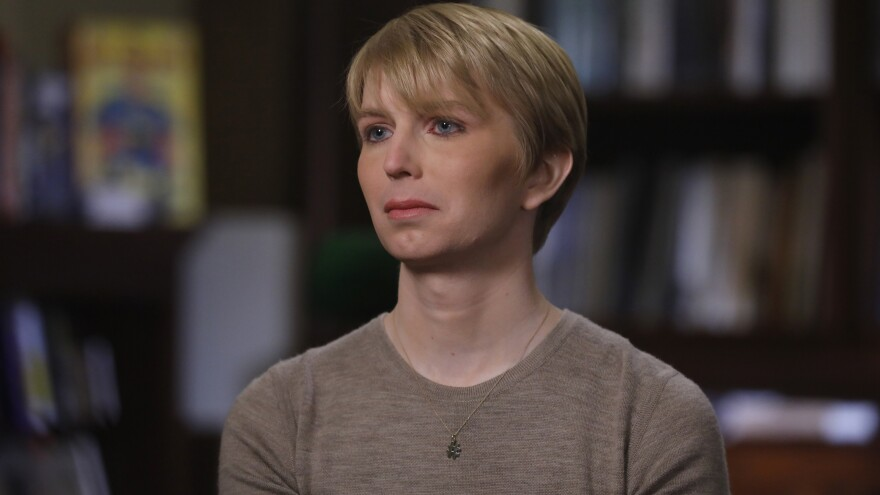 Chelsea Manning was interviewed on the ABC News program <em>Nightline</em> shortly after her release from prison. Manning, a 29-year-old transgender woman, formerly known as Bradley Manning, was convicted of leaking classified information.
