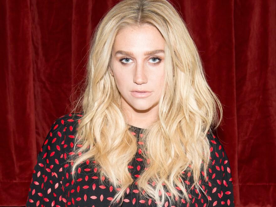 Singer Kesha in February 2015.