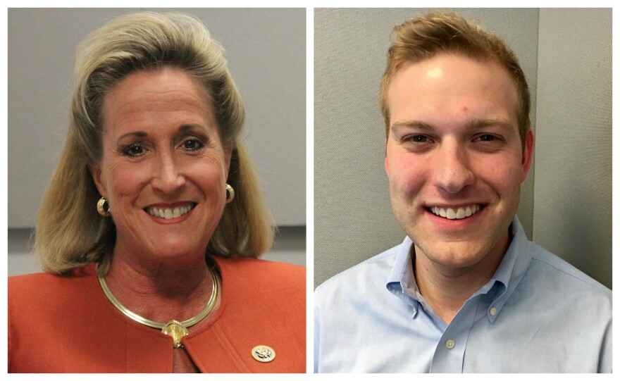 U.S. Rep. Ann Wagner, R-Ballwin, faces Democratic challenger Cort VanOstran in the November election.