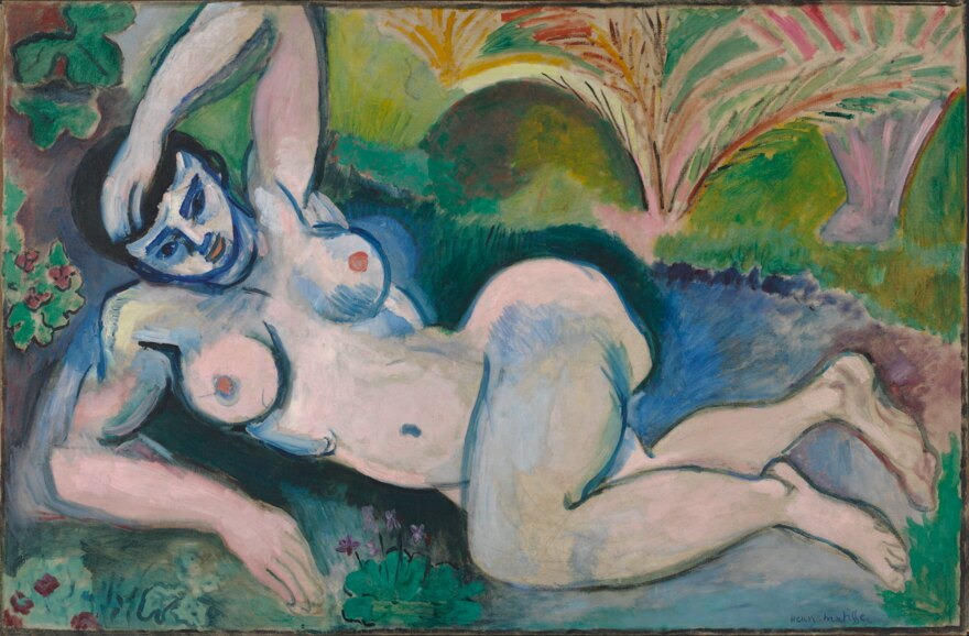 "Henri Matisse angered viewers with his ""distorted"" <em>Blue Nude,</em> a 1907 oil on canvas."