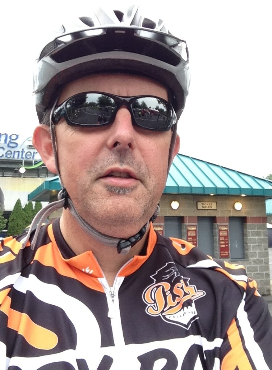 """If old bloggers are doing it when they bike, then you know the word """"selfie"""" has gone mainstream."""