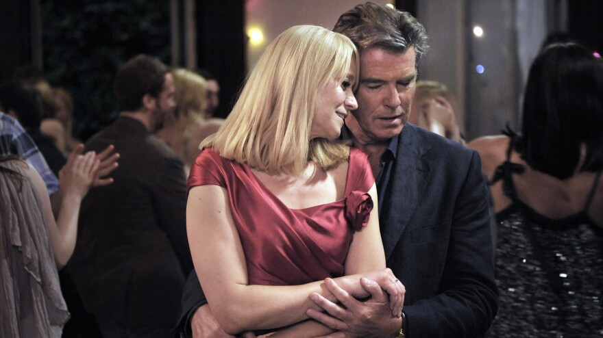 A reluctant widower (Pierce Brosnan) finds himself drawn to the mother (Trine Dyrholm) of the young woman who's marrying his son in <em>Love Is All You Need, </em>a romantic comedy from Oscar-winning director Susanne Bier.