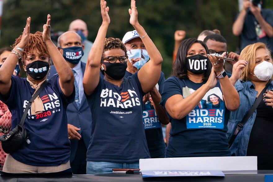 Biden Atlanta Rally