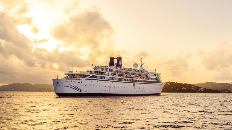 The Freewinds cruise ship, owned and operated by the Church of Scientology, was reportedly the vessel quarantined in St. Lucia because of a confirmed case of measles on board.
