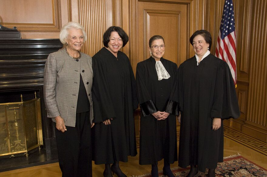 A number of women have appeared on presidential shortlists for possible Supreme Court nominees. The four women who have served on the high court are Justices Sandra Day O'Connor, Sonia Sotomayor, Ruth Bader Ginsburg and Elena Kagan.
