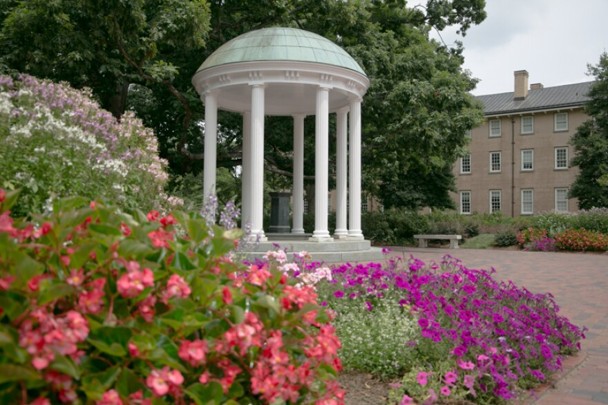 UNC Chapel Hill has shared details of its social distancing measures in its reopening plan, called 'Carolina's Roadmap to Fall 2020.'