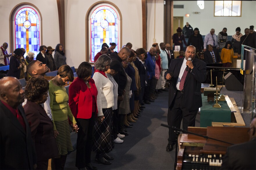 In 2015, New Northside Missionary Baptist Church in Jennings installed security cameras and contracted armed security guards. Jan. 12, 2020