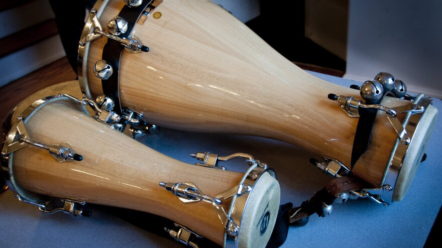 Batá drums are a percussion instrument native to Nigeria, but now also heavily used in Latino countires.
