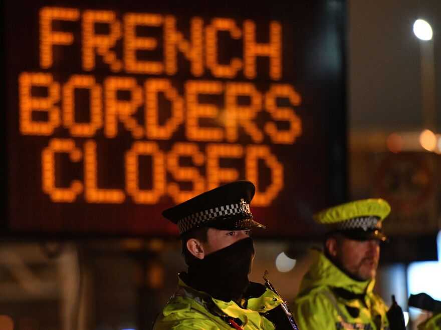 The U.K. and France reached a deal to reopen their mutual borders for rail, air, and sea delivery services amid the rapid spread of a new coronavirus strain.