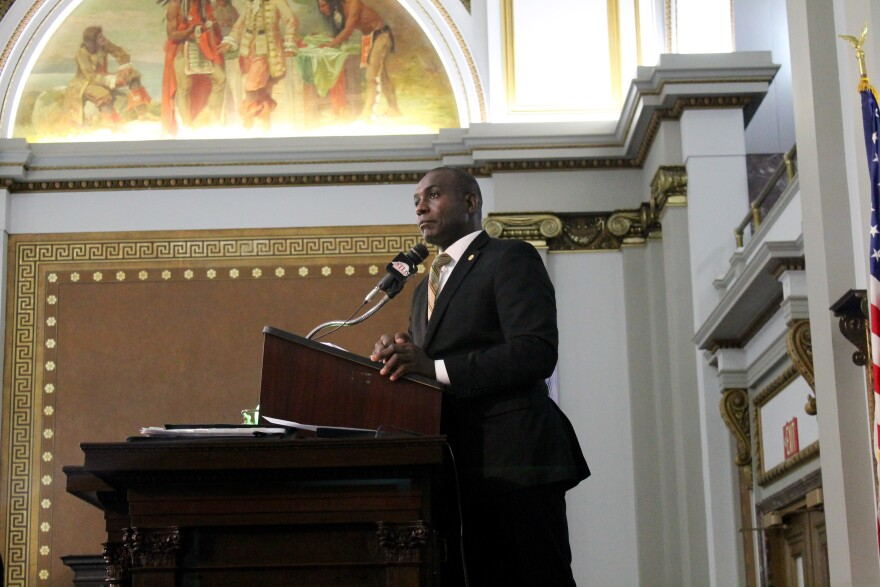 St. Louis Board of Aldermen President Lewis Reed voted for Cohn's bill.