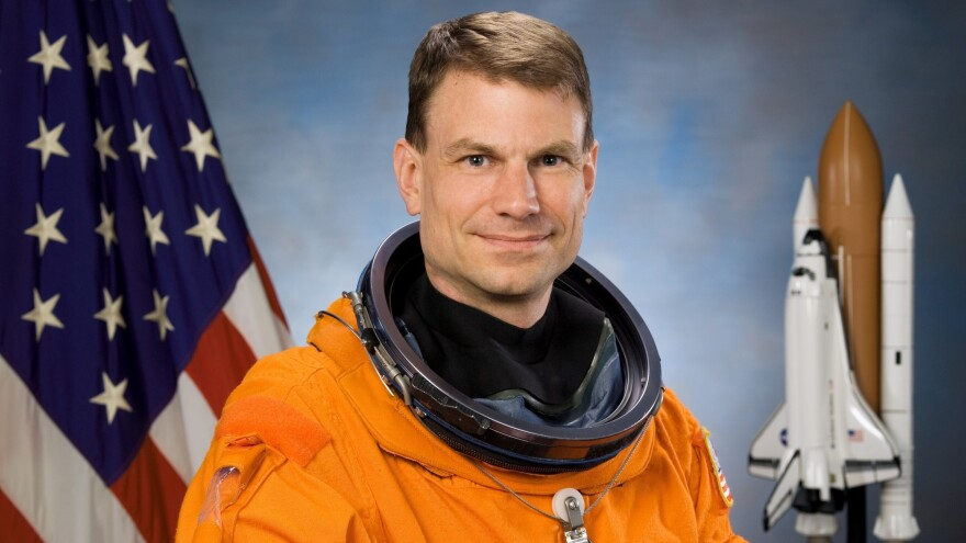 """Mission specialist Stan Love's playlist for space includes David Bowie's """"Space Oddity,"""" XTC's """"Another Satellite"""" and Shonen Knife's """"Riding on the Rocket."""""""