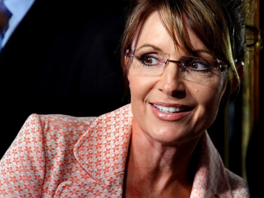 Former Alaska Gov. Sarah Palin (R) in New York City on May 31, 2011.