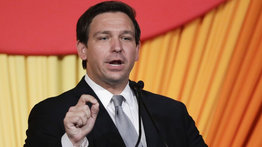 Florida Gov. Ron DeSantis said on Tuesday the FBI confirmed to him that two counties had been compromised by Russian cyberattacks. No votes were changed, he said, but data was accessed.