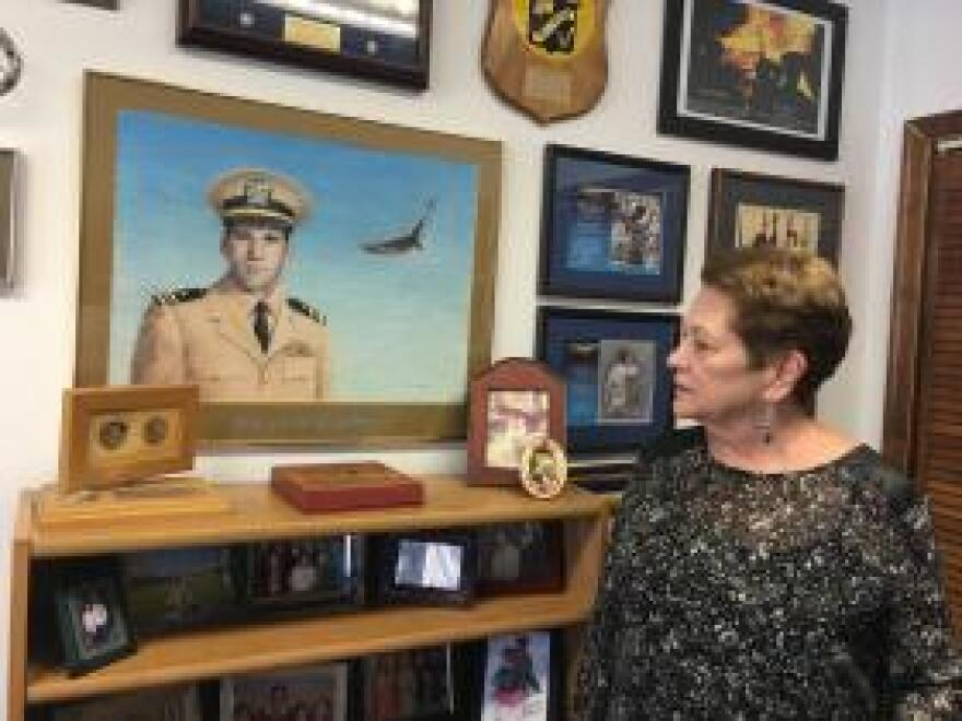 Ann Mills-Griffiths has spent almost 40 years at the National League of POW/MIA Families. Her brother is a missing naval aviator.