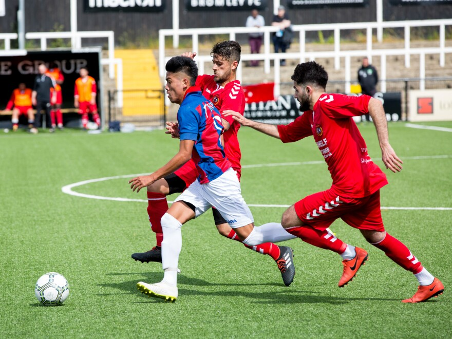 Tibet's team met the London Turkish All-Stars at a CONIFA World Cup match this week. Final score: London Turkish All-Stars 4, Tibet 0.