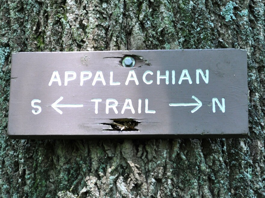 Adam Frank goes in search of solitude on the Appalachian Trail.