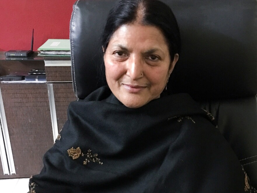 """Seema Parveen, 42, has been divorced by three different men. In India's Muslim community, a husband can divorce his wife by uttering the word <em>""""talaq""""</em> — Arabic for divorce."""