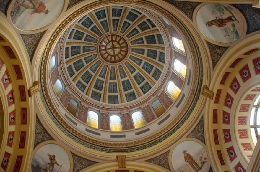 The Capitol dome in Helena, MT.