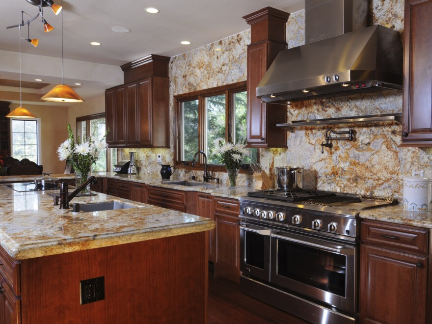 Do you really need a kitchen like this to boil water?