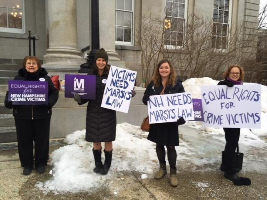 Marsy's Law supporters lobbying lawmakers in Concord, N.H.