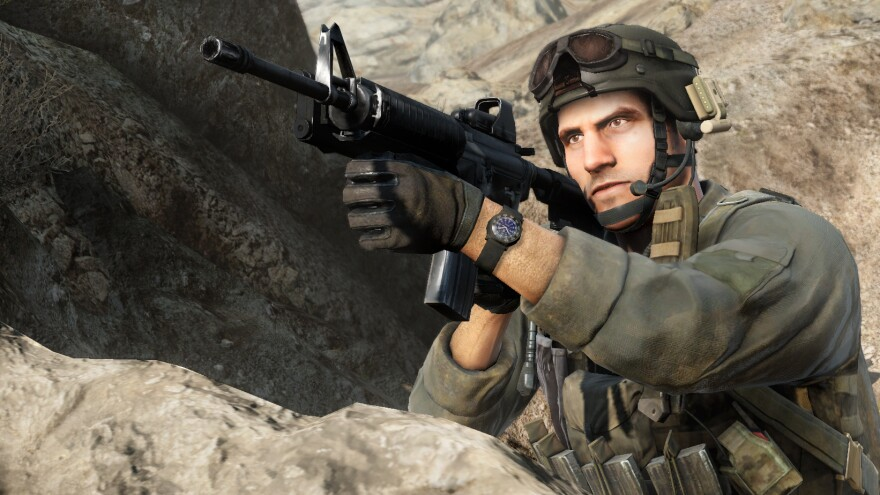<em>Medal of Honor</em>'s authentic action is a selling point for its publisher, Electronic Arts.<strong></strong>