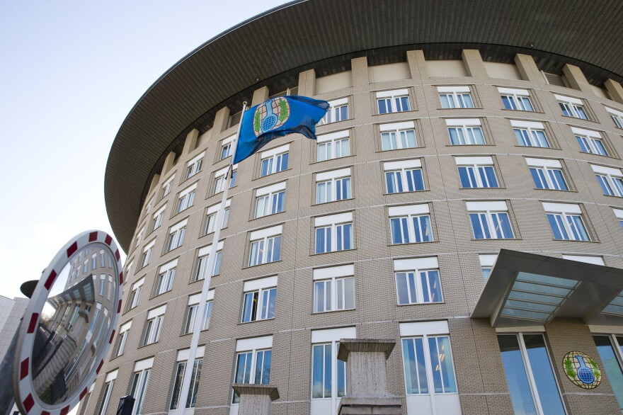 Representative of the Organisation for the Prohibition of Chemical Weapons met Monday about Syria's alleged use of chemical weapons in Douma.