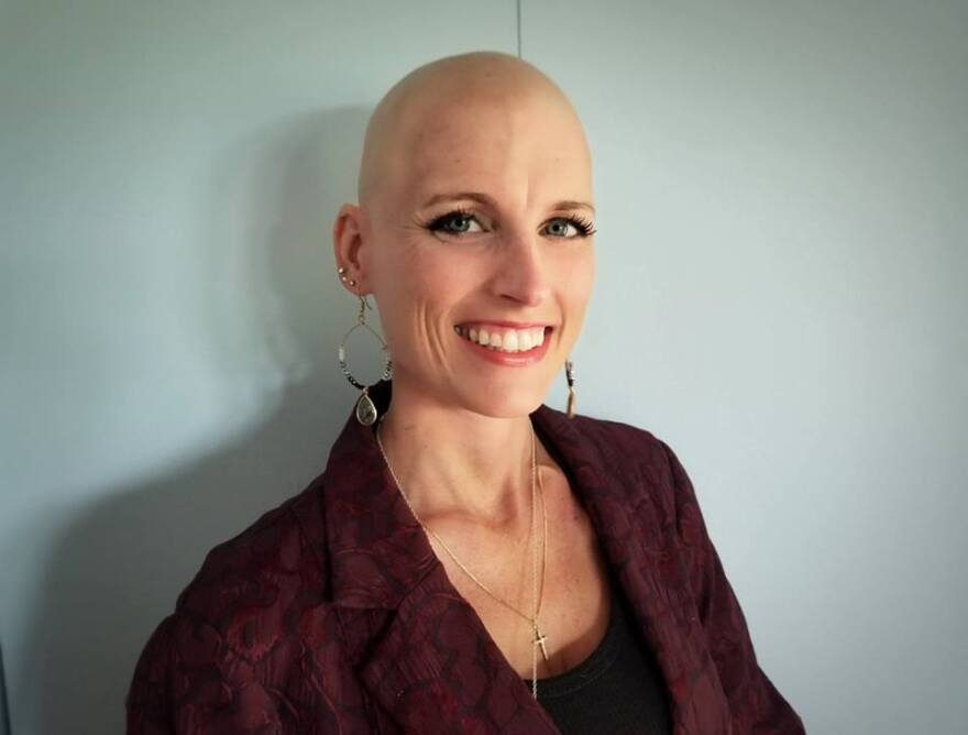 """""""So today is day one,"""" Jossalyn Larson says in the first entry of a vlog she started this summer, """"the first day after learning the results of my biopsy and confirming that I do have breast cancer."""""""
