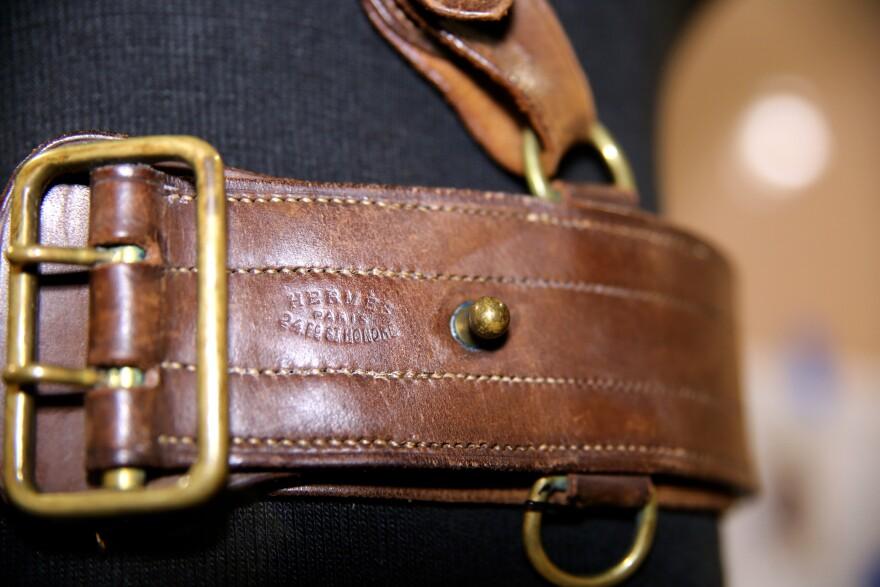 Henry Whitely Patterson's Hermés belt