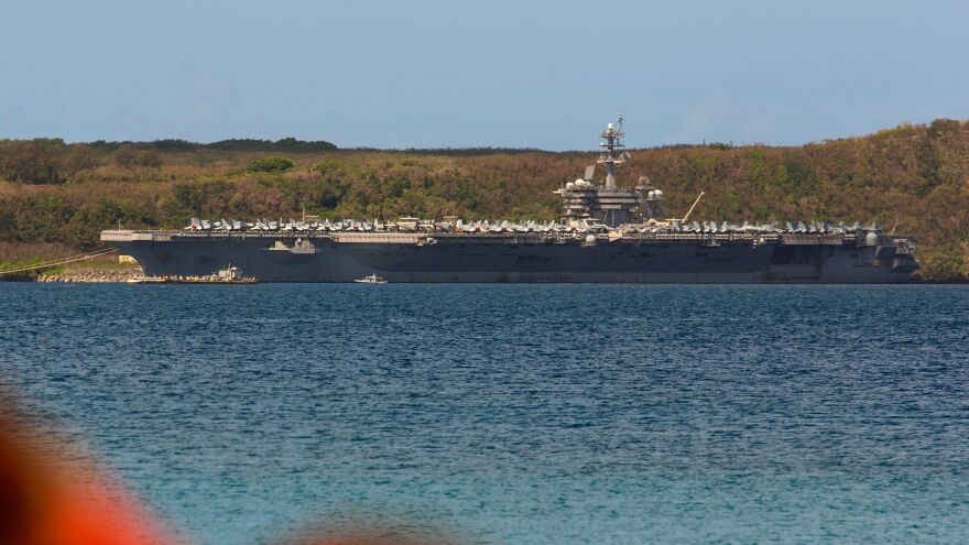 Hundreds of crew members from the aircraft carrier USS Theodore Roosevelt, which was docked in Guam in April, have tested positive for the coronavirus.