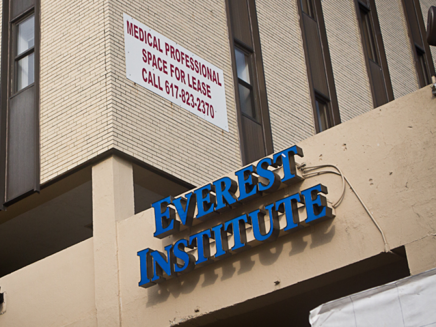 Everest Institute in Boston.