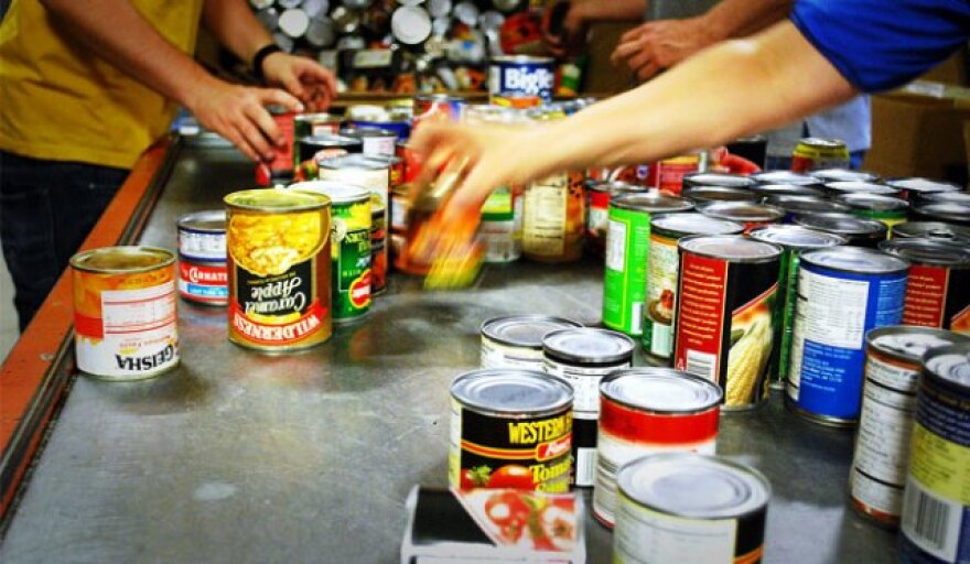 Photo of canned goods.