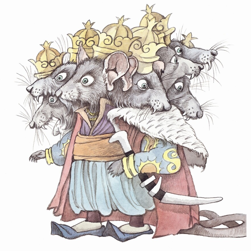 """Maurice Sendak worked on a version of <em>The Nutcracker </em>for the Pacific Northwest Ballet in 1983, and put out a book in 1984.  He described Hoffmann's story as having """"bite and muscle, the way the Grimm fairy tales do."""""""