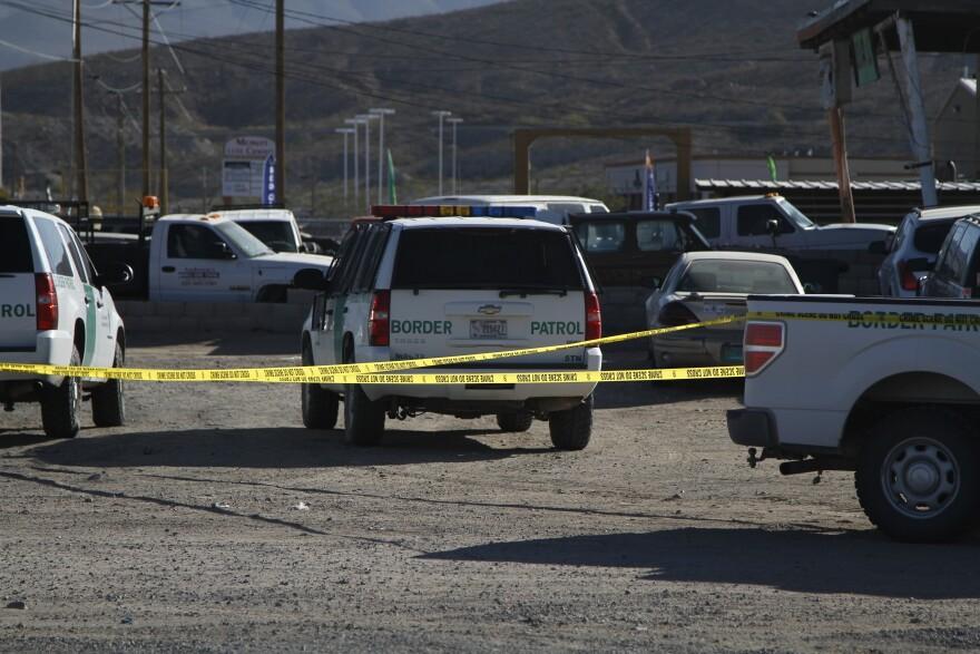 scene of fatal shooting
