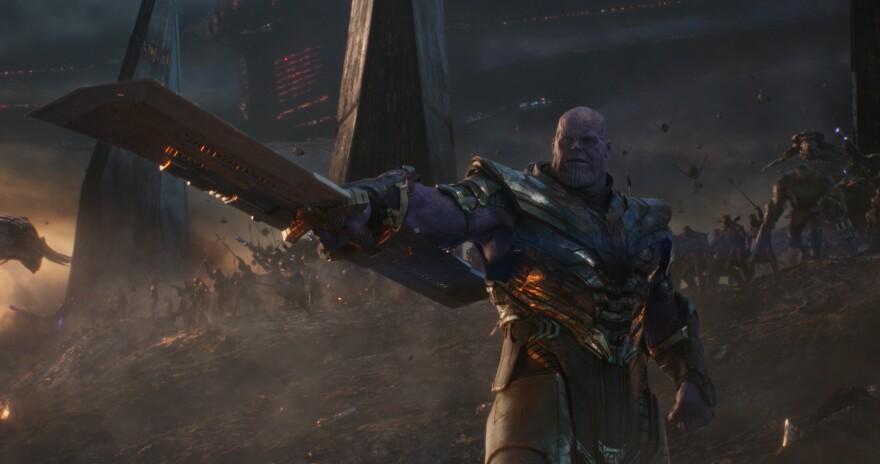 Josh Brolin plays Thanos in <em>Avengers: Endgame.</em>