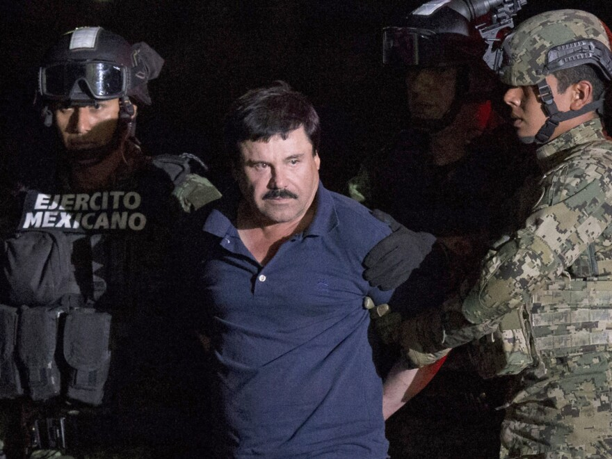 """Joaquin """"El Chapo"""" Guzmán was captured by Mexican marines on Friday. He now faces extradition to the U.S., though it will likely be a lengthy process."""
