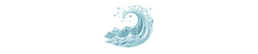A wave   Illustration by Cornelia Li for NPR