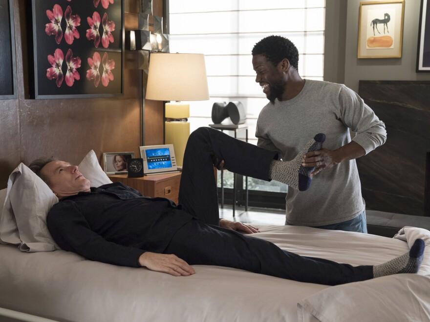 Hart plays the caretaker of a quadriplegic man (played by Bryan Cranston) in <em>The Upside</em>.