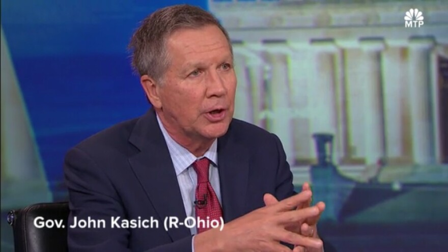 Kasich on Meet the Press Daily