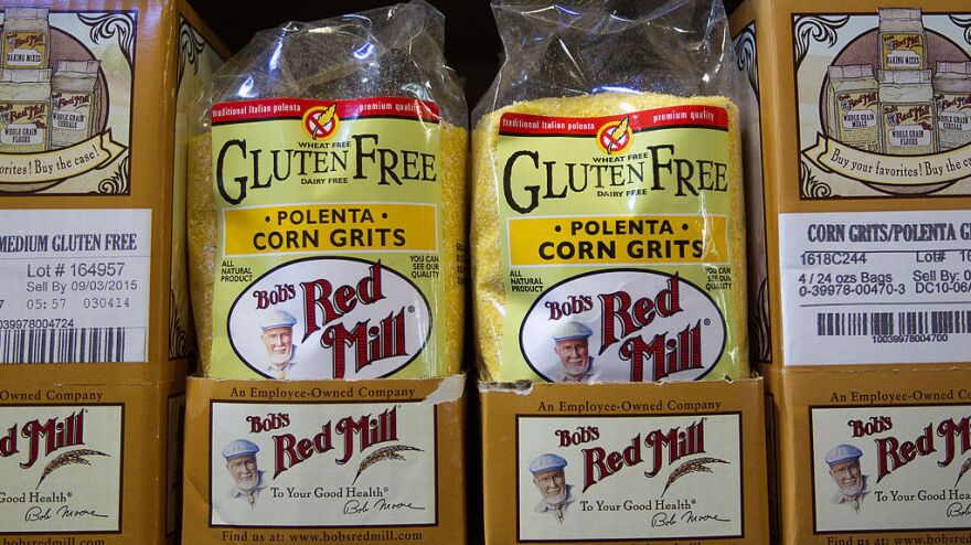 Bob's Red Mill sells more than 100 different gluten-free products.