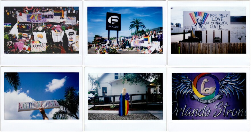 Six months ago, a shooter opened fire in the Pulse nightclub in Orlando, killing 49 people and wounding 53 others. Scenes from around the city show different ways the community worked to come together.