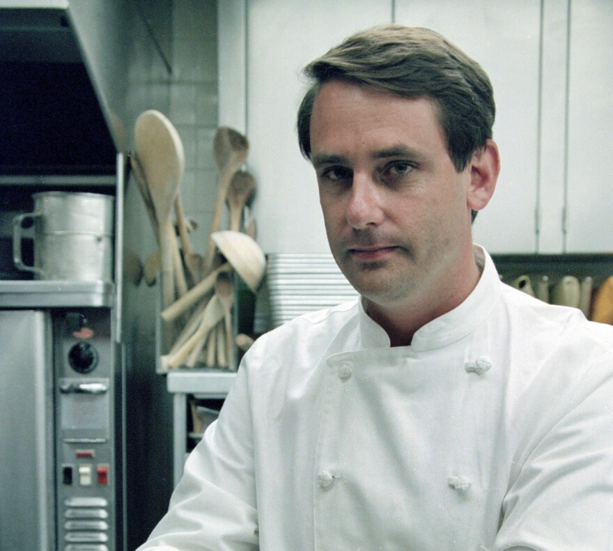 Former White House executive chef Walter Scheib in 1994.
