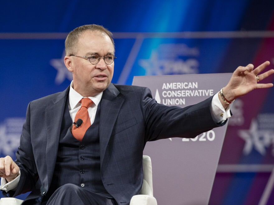 Mulvaney lasted a little more than a year in the top job at the White House. Trump said he will now become the U.S. special envoy for Northern Ireland.