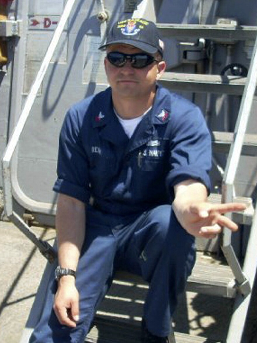 Gary Rehm, a Navy Fire Controlman 1st Class, was one of seven sailors who died when the USS Fitzgerald collided with a cargo ship off Japan on June 17. More than 36,000 people have signed a petition calling for the Navy to name a ship in his memory.