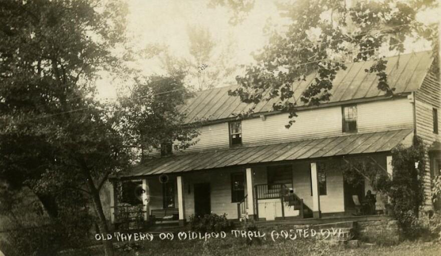 Old Tavern on Midland Trail, Ansted WV