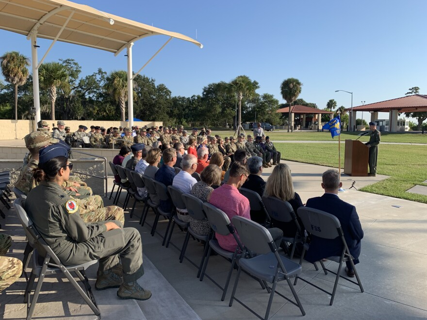 Airmen and community leaders gathered to celebrate the 100th Anniversary of the 6th Air Mobility Wing and rename it the 6th Air Refueling Wing.