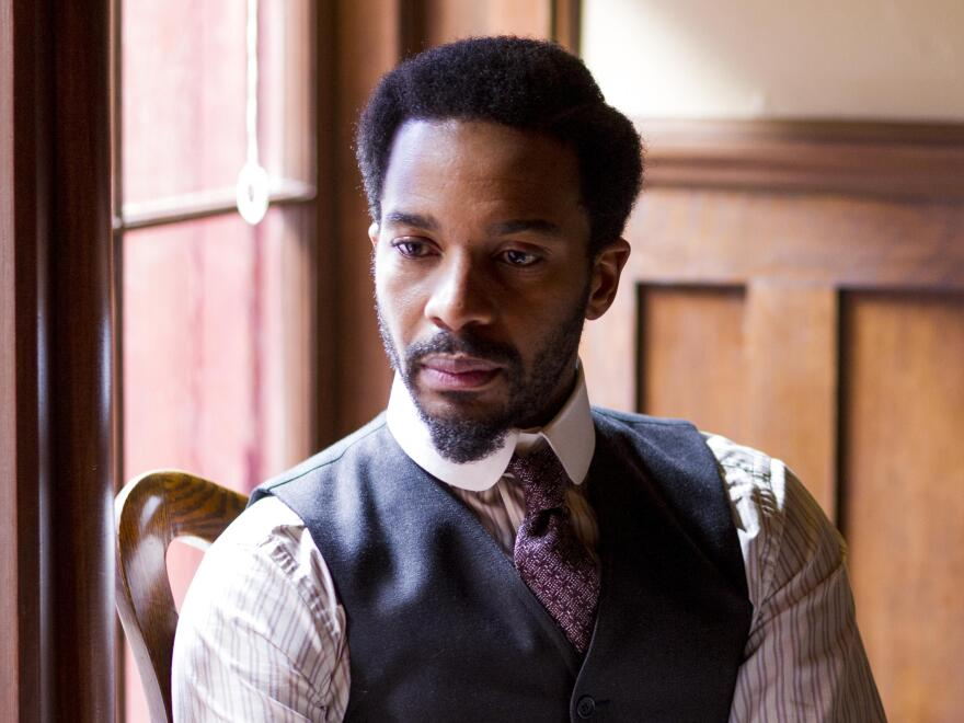 Andre Holland plays Dr. Algernon Edwards, who attempts to become chief surgeon as Season 2 of <em>The Knick </em>begins.